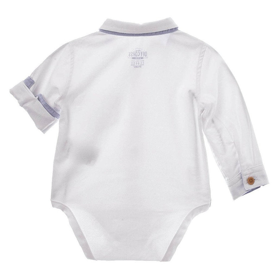 Baby Boy Collared Bodysuit