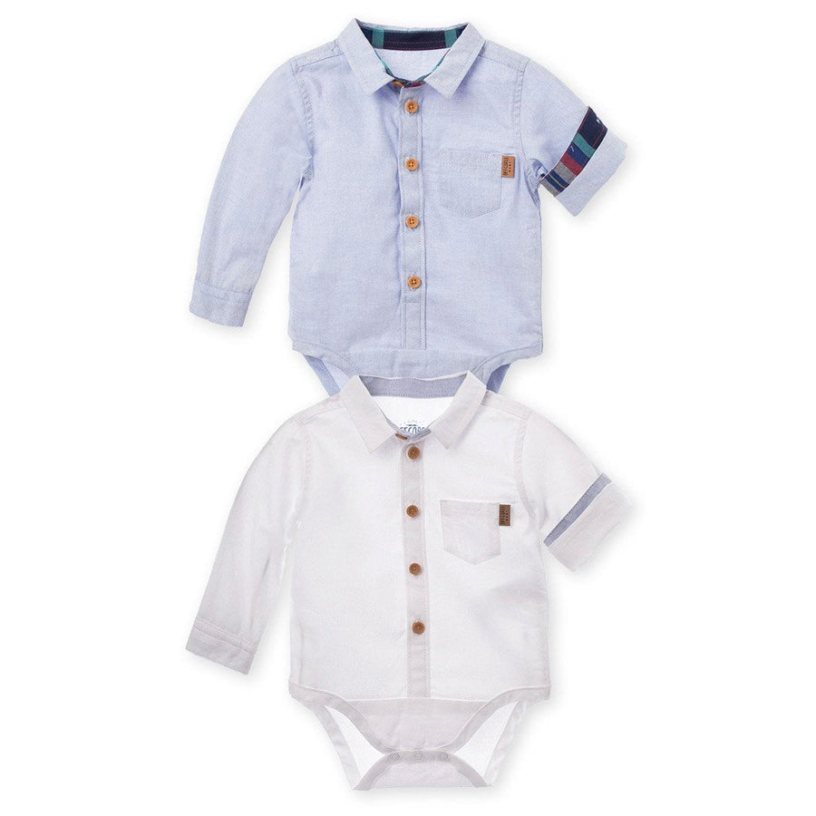 Long Sleeve Bodysuit Onesie 2Pack