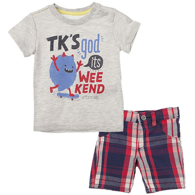 Outfits Set T Shirt and Shorts