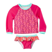 Tankini Long Sleeve Baby Girl Rash Guard