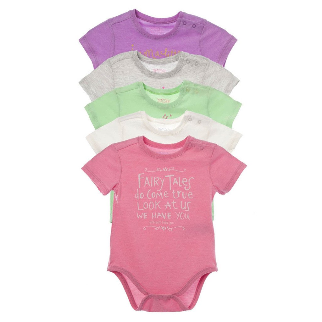 3c163370d 5 Pack Onesies with Funny Sayings - OFFCORSS USA