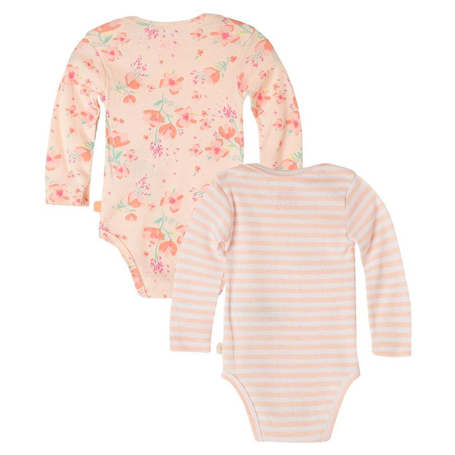 Baby Girl Long Sleeve 2 Pack Bodysuit