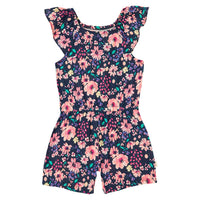 Baby Girl Sleeved Romper