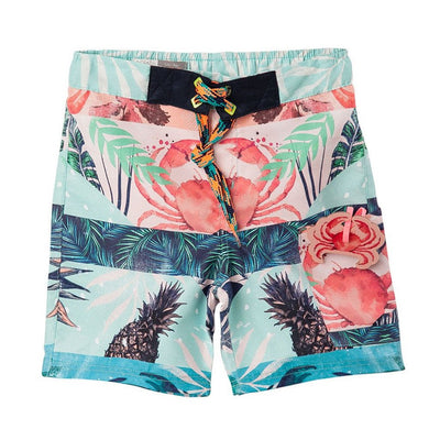 OFFCORSS | Red Crab Toddler Boy Swim Trunks