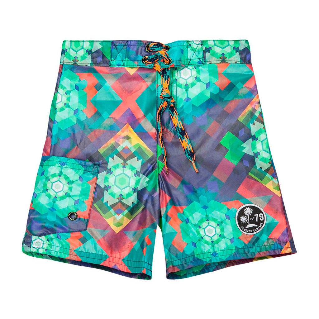 6e8f4f7a73 OFFCORSS | Kaleidoscope Toddler Boy Swim Shorts
