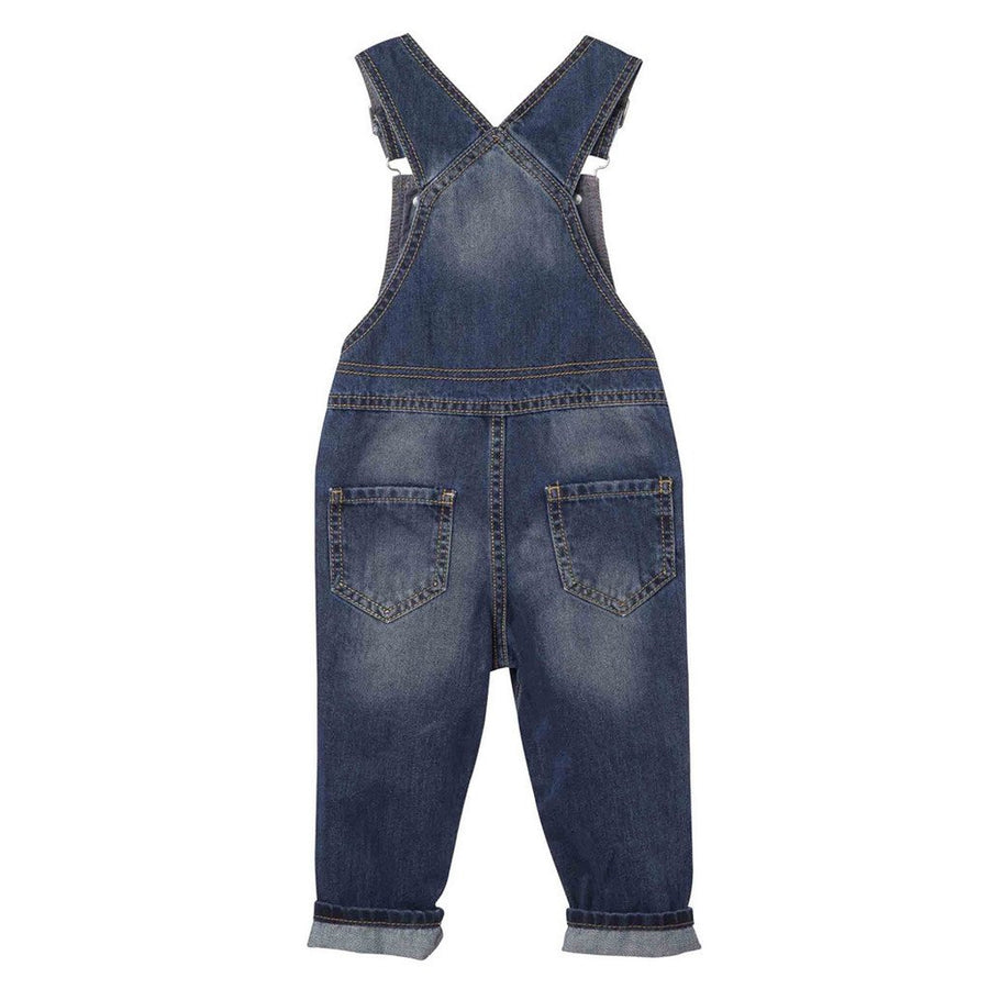 OFFCORSS | Blue Denim Overalls for Toddler Boy