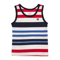 OFFCORSS Toddler Boy Striped Tank Top 12m 18m 2T 3T (Multi Colored)