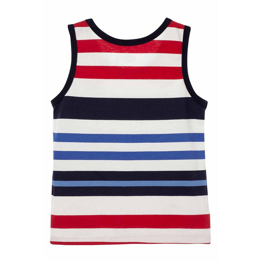Toddler Boy Striped Tank Top