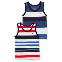 Striped Tank Tops for Toddler Boy 2 Pack