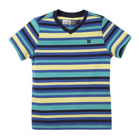 OFFCORSS Toddler Boy V Neck Striped T Shirts 12m 18m 2T 3T