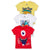 Funny Toddler Boy T Shirts Round Neck 3 Pack