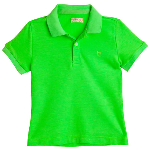 Toddler Boy Polo Shirts with Solid Color