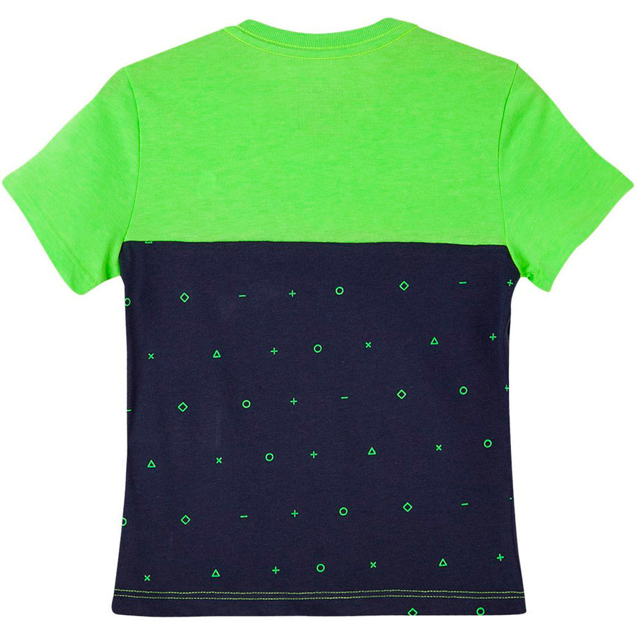 Toddler Boy Front Pocket T Shirt Scoop Neck