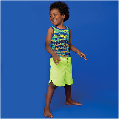 Toddler Boy Tank Top Summer Prints
