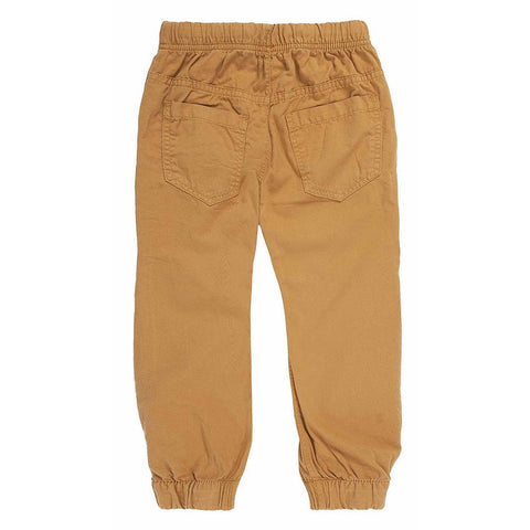 OFFCORSS | Khaki Toddler Boy Jogging Bottoms