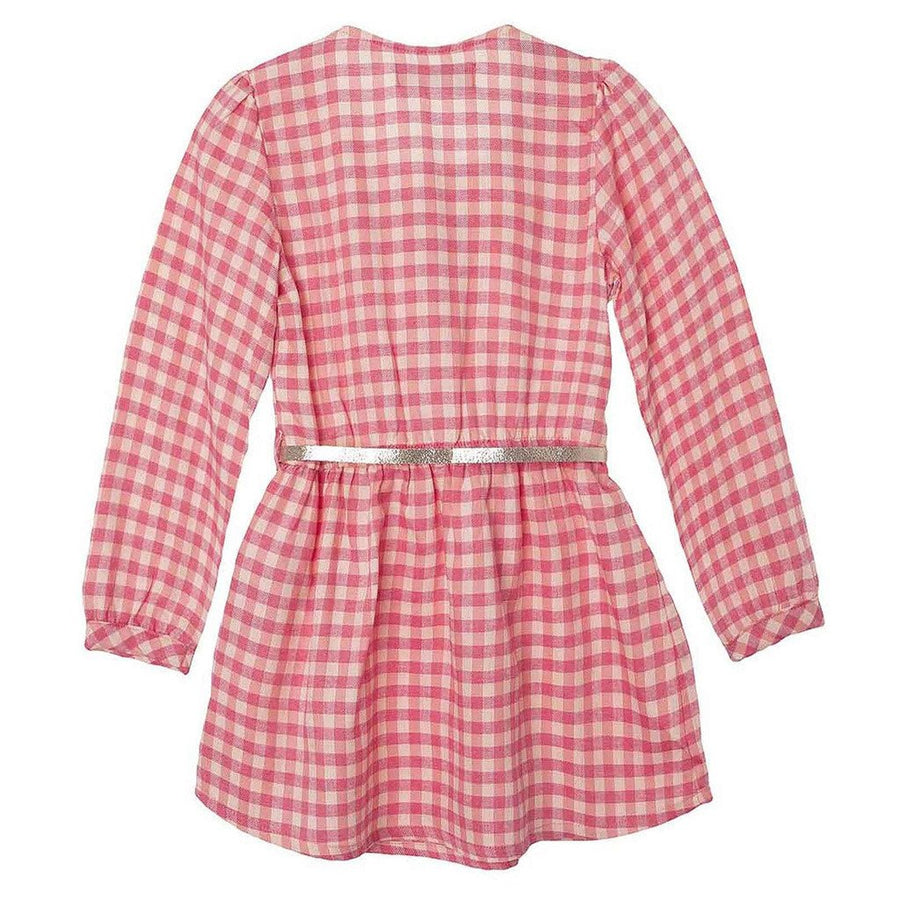 Pink Toddler Girl Long Sleeve Dress