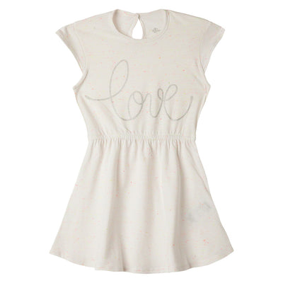 White Toddler Girl Short Sleeve Dresses