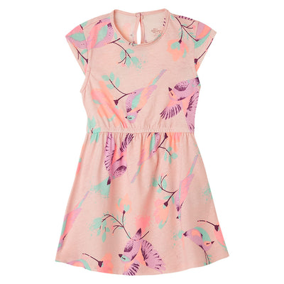 Pink Toddler Girl Short Sleeve Dresses