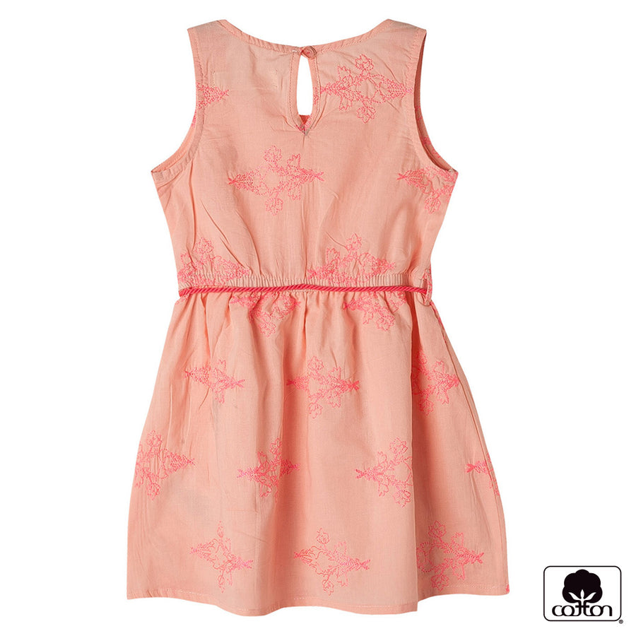 Sleeveless Blush Floral Prime Dresses