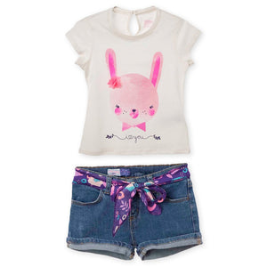 Toddler Girl Outfits Short and Tshirt