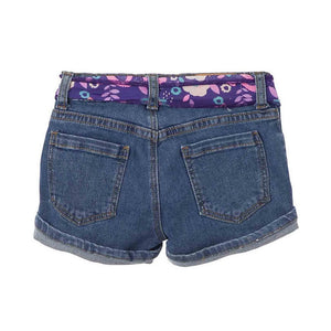 Toddler Girl Shorts Solid Color