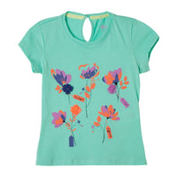 Toddler Girl T Shirts Flower Print