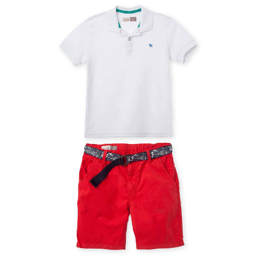 Polo Outfits Shorts Pique Shirt