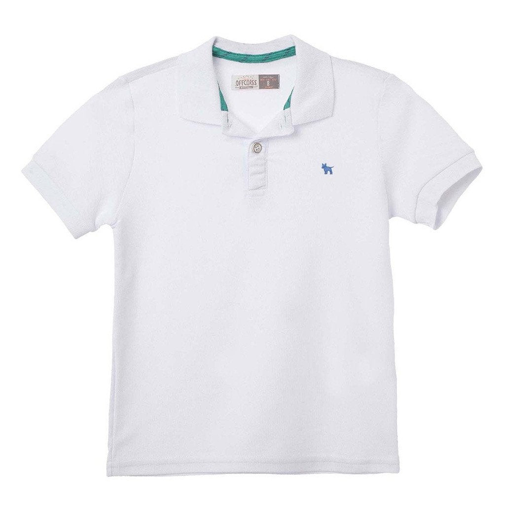 0be249dd Solid Color Polo Shirts for Boys - OFFCORSS USA