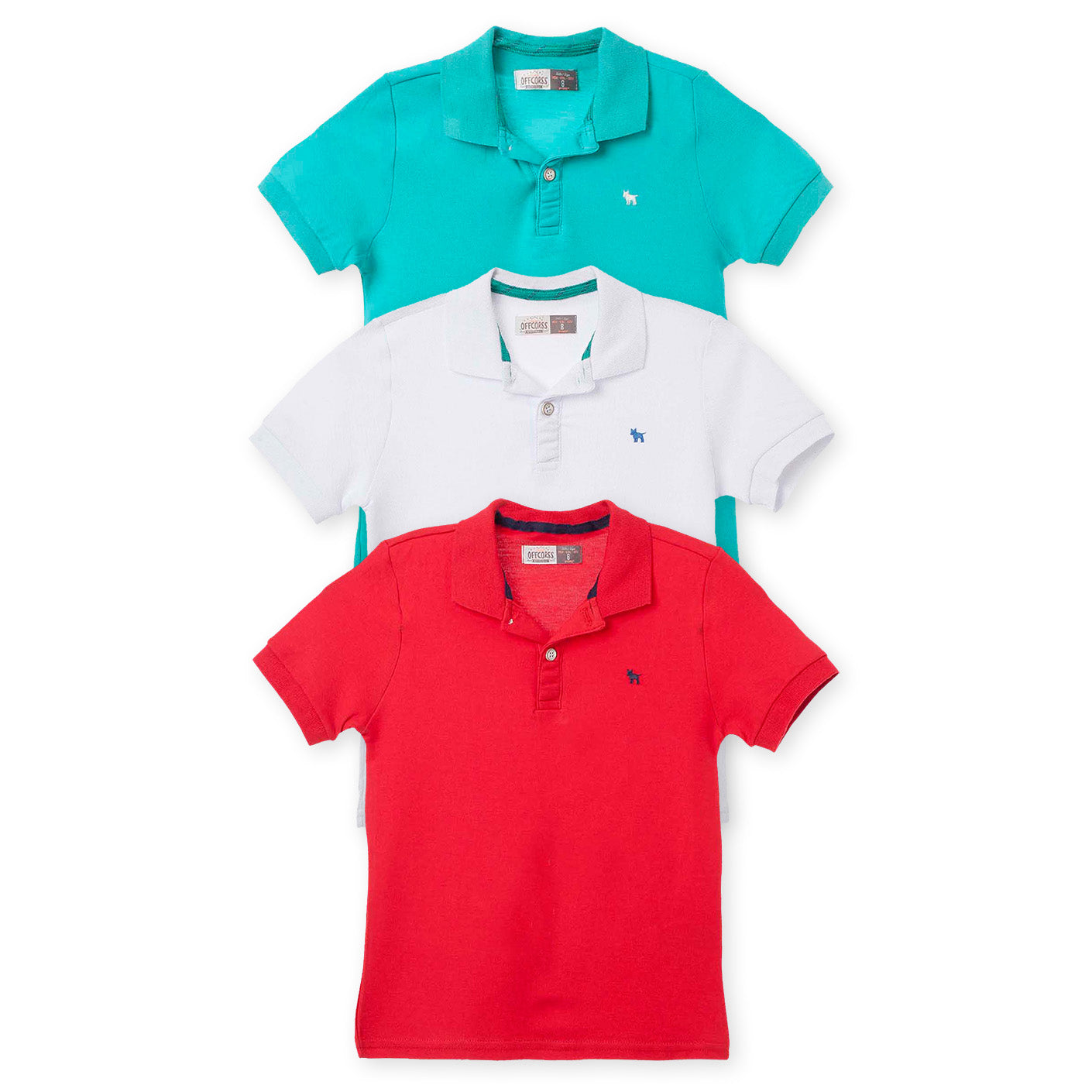 bb14375321 Polo Shirt Solid Colors Clothing Kids 3Pack
