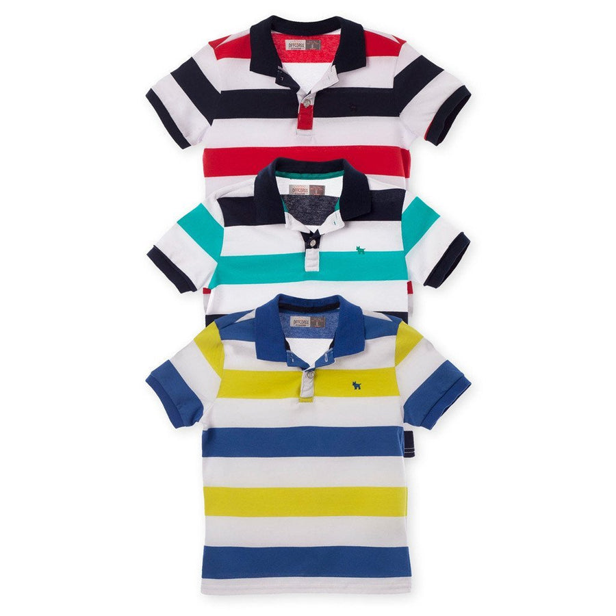 Striped Polo Shirt Clothing Kids 3Pack