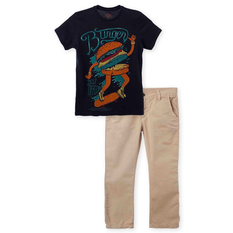 T Shirt and Pants Outfit Set