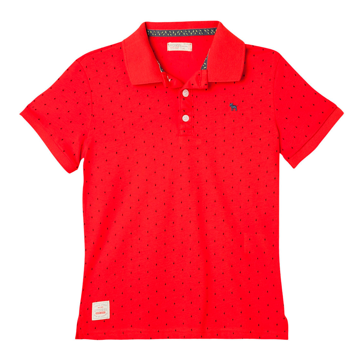 Front Row Boys Ages 5-13 Various Colours Long Sleeve Rugby Polo Shirt