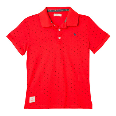Polo Short Sleeve Button Up
