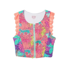 Girls Rash Guard Sleeveless Tankini