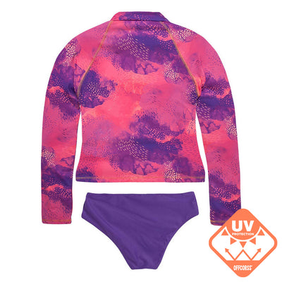 Big Girl Long Sleeve Rash Guard Tankini