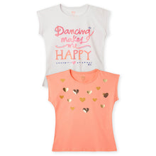 Girls Tee Shirt Blouse Top Trendy