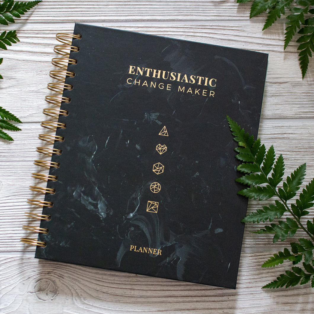 Enthusiastic Change Maker Planner