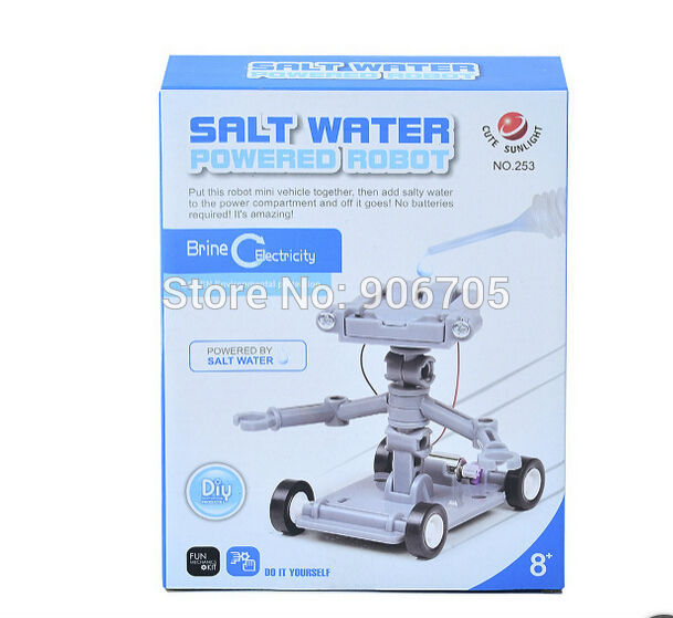 WALLACE - Salt Water Powered Robot Science Learning Toy Kit