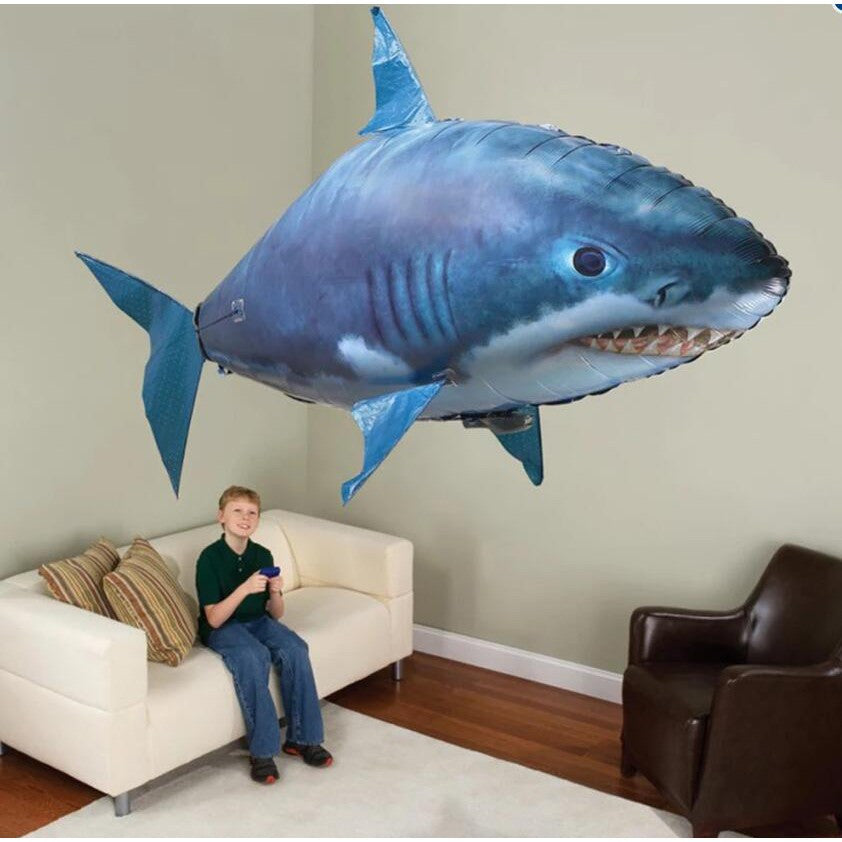 SHARKA - Remote Control, Inflatable Balloon Shark
