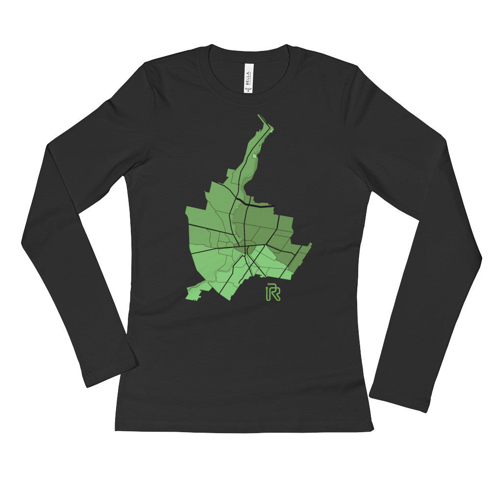 Women's Rochester City Long Sleeve T-Shirt