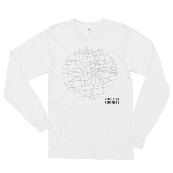 High Map Long sleeve t-shirt (unisex)