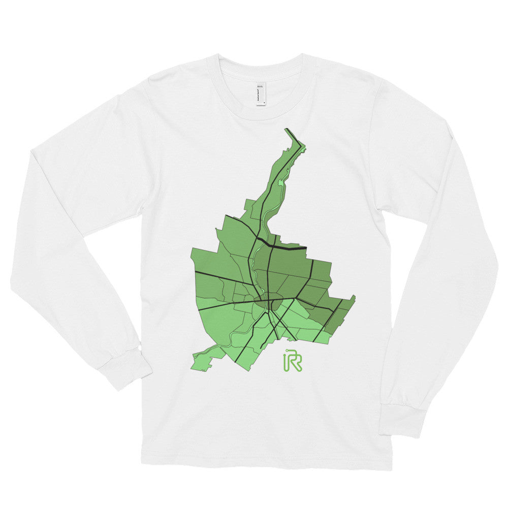 Rochester City Long Sleeve T-shirt (unisex)