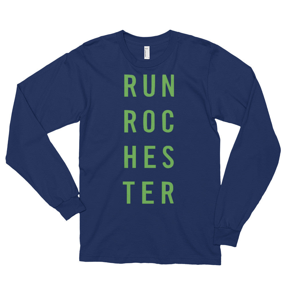 Run Rochester Long Sleeve T-shirt (unisex)