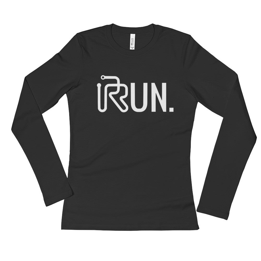 Women's RUN. Long Sleeve T-Shirt