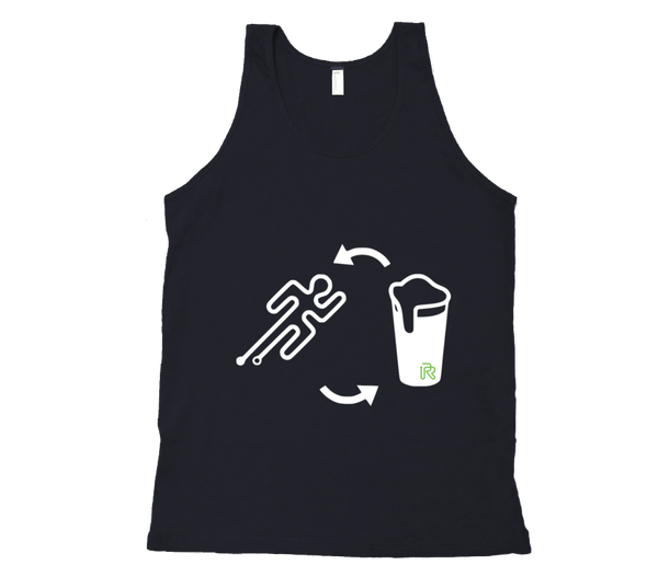 Men's Run, Beer, Repeat Tank