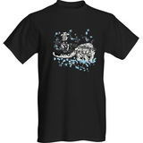 Short Sleeve T-Shirt Snow Leopard