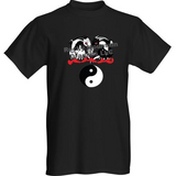 Short Sleeve T-Shirt Yin Yang Dragons