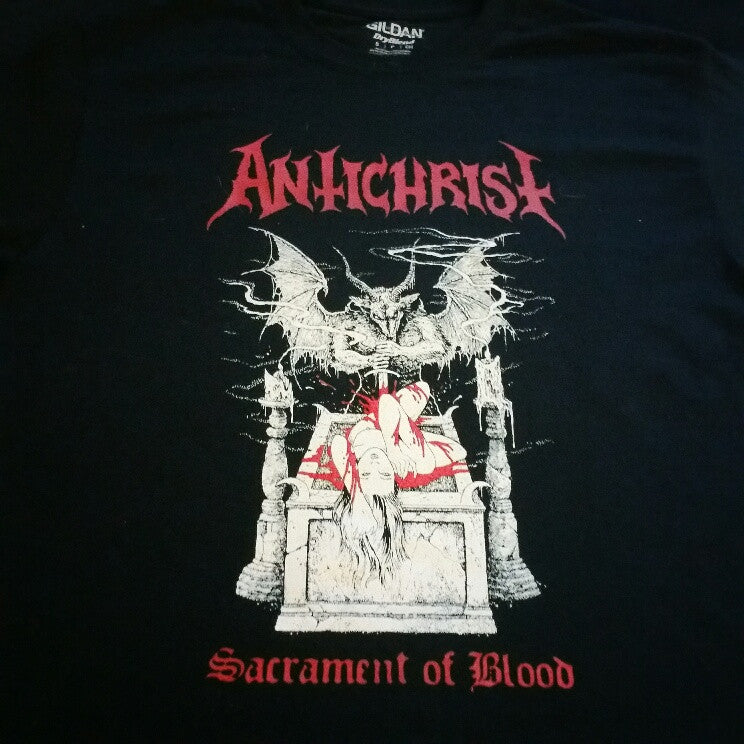 "ANTICHRIST ""Sacrament of Blood"" Official T-Shirt"