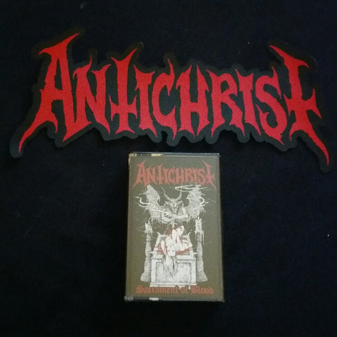 ANTICHRIST Official Logo Large Cut-out Patch