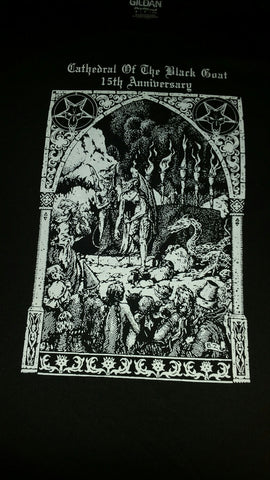 CATHEDRAL OF THE BLACK GOAT Vol. 8 Official Fest T-Shirt